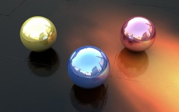 CGI - Balls Wallpapers and Backgrounds ID : 376130
