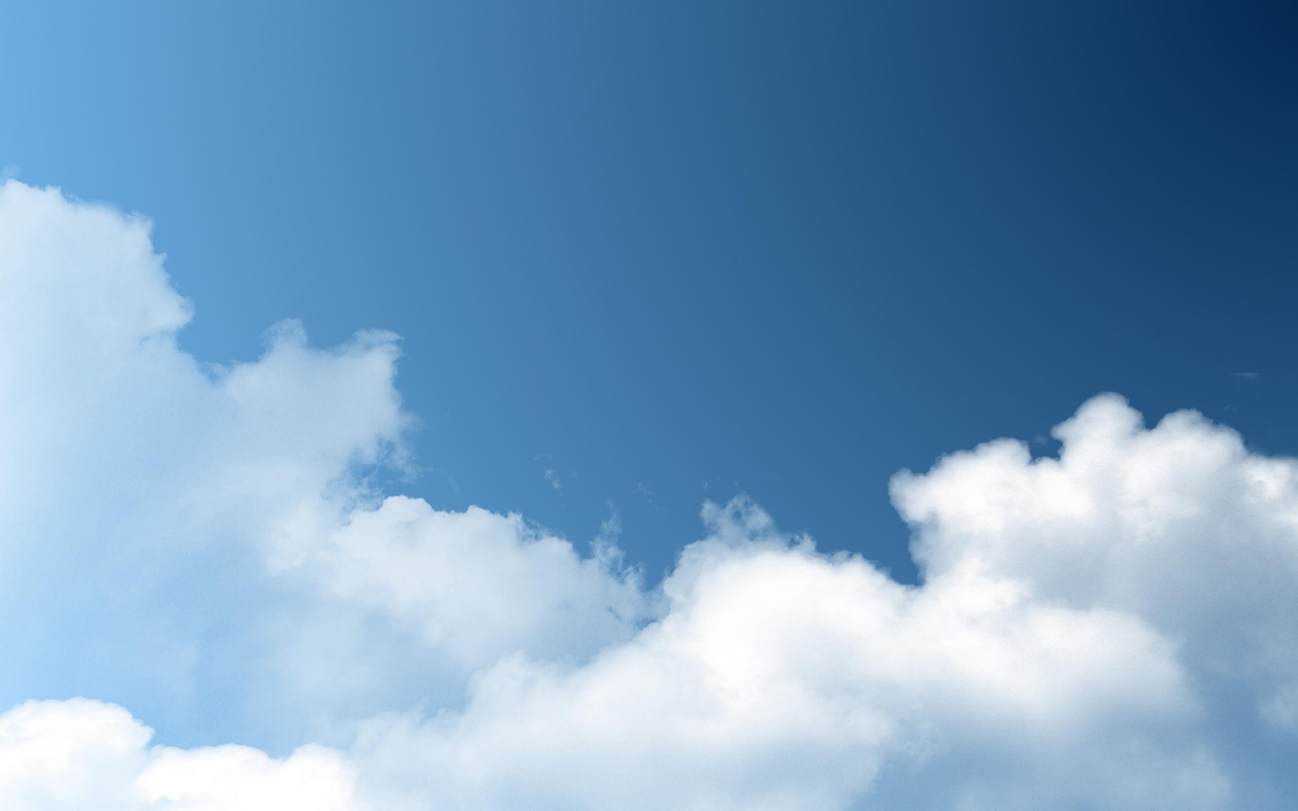 Fondo de cielo con nubes hd