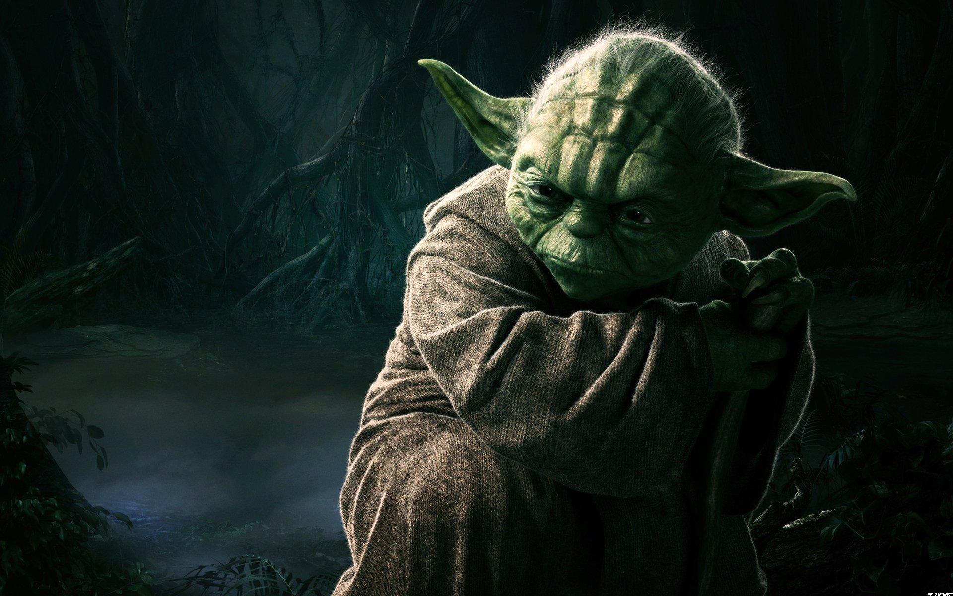 Sci Fi - Star Wars  Yoda Wallpaper