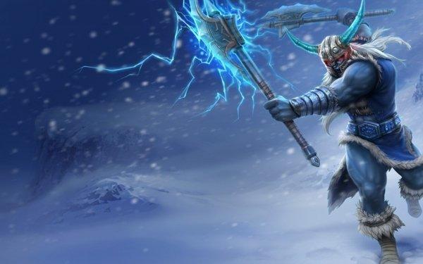 Videojuego League Of Legends Olaf Fondo de pantalla HD | Fondo de Escritorio