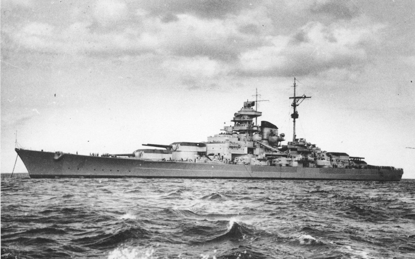German Battleship Tirpitz. The fate of the battleship Tirpitz 52