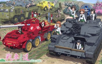 Anime - Girls Und Panzer Wallpapers and Backgrounds ID : 380861