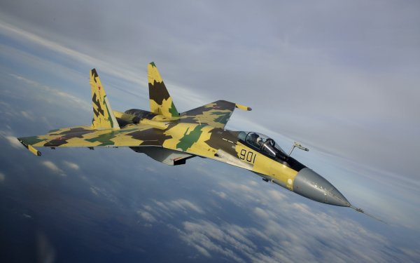 Military Sukhoi Su-35 Jet Fighters Aircraft HD Wallpaper   Background Image