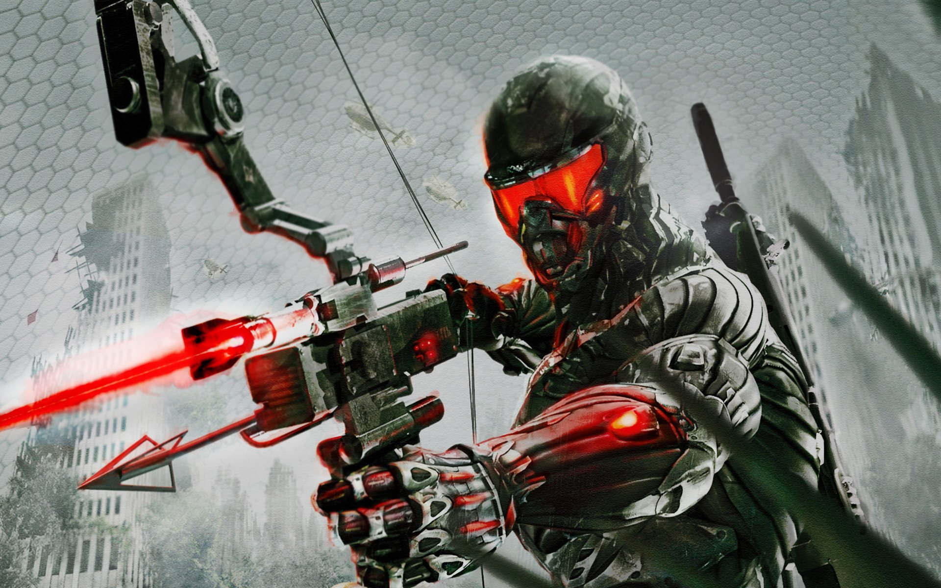 Action Game Hd Wallpaper Collection: Crysis 3 HD Wallpaper