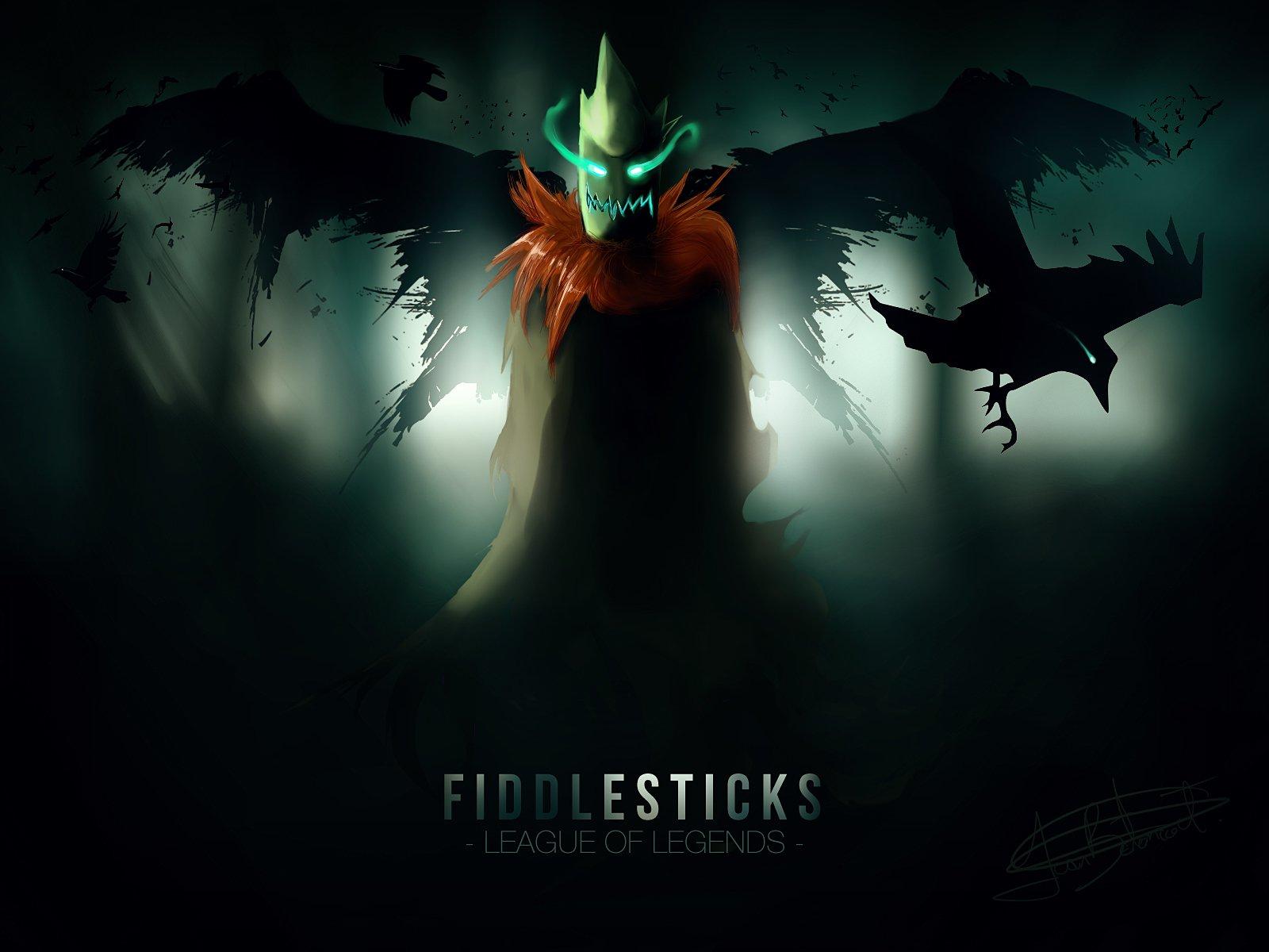 38 Fiddlesticks League Of Legends Hd Wallpapers Background
