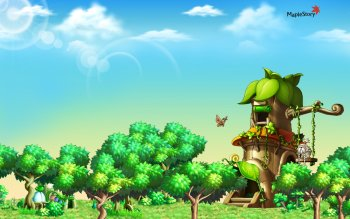 Video Game - Maplestory Wallpapers and Backgrounds