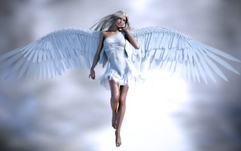 Fantasy - Angel Wallpapers and Backgrounds ID : 382711