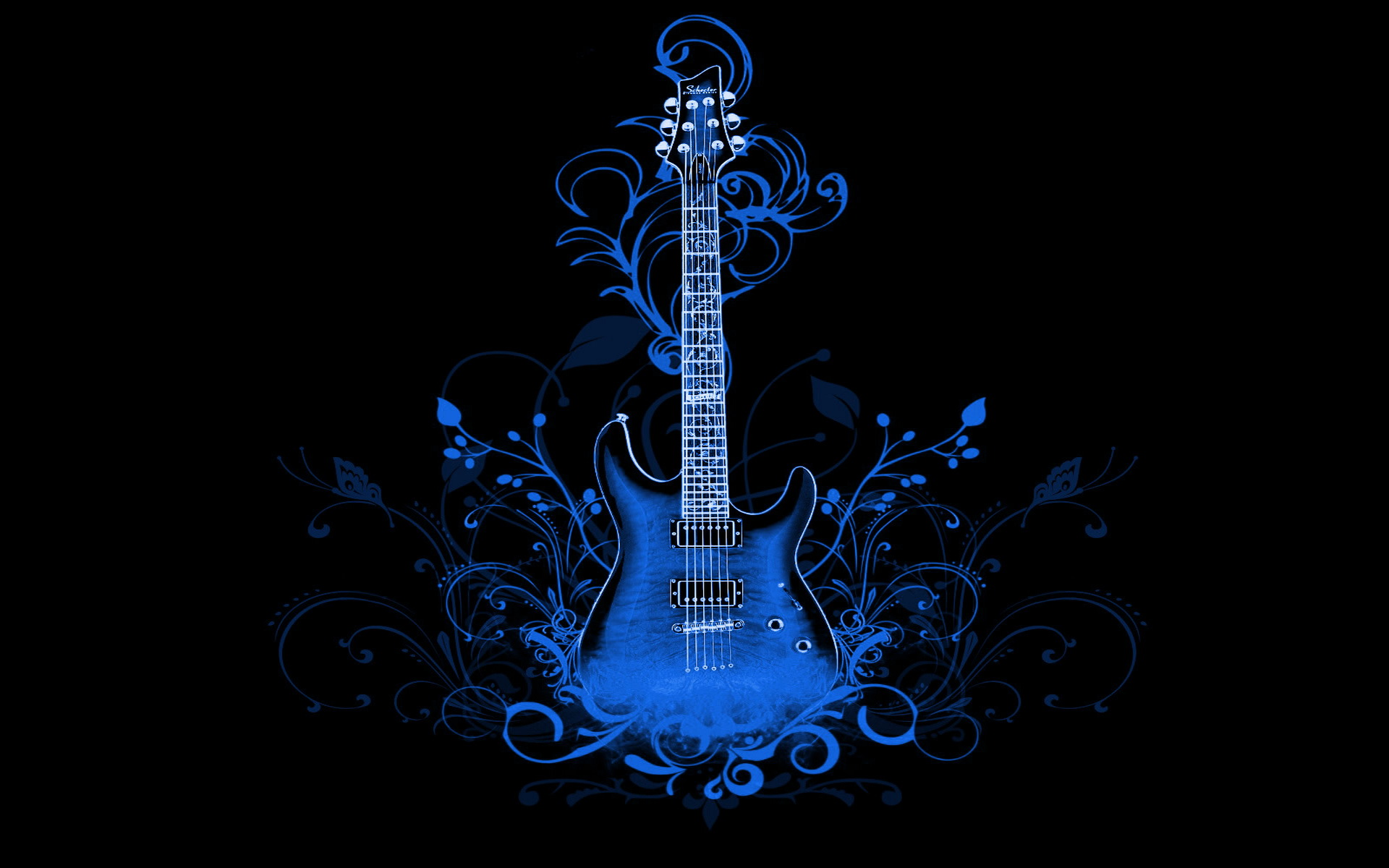 10 Most Popular 3d Colorful Music Notes Wallpaper Full Hd: Guitar Full HD Wallpaper And Background
