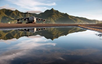 Military - Boeing C-17 Globemaster III Wallpapers and Backgrounds ID : 383971