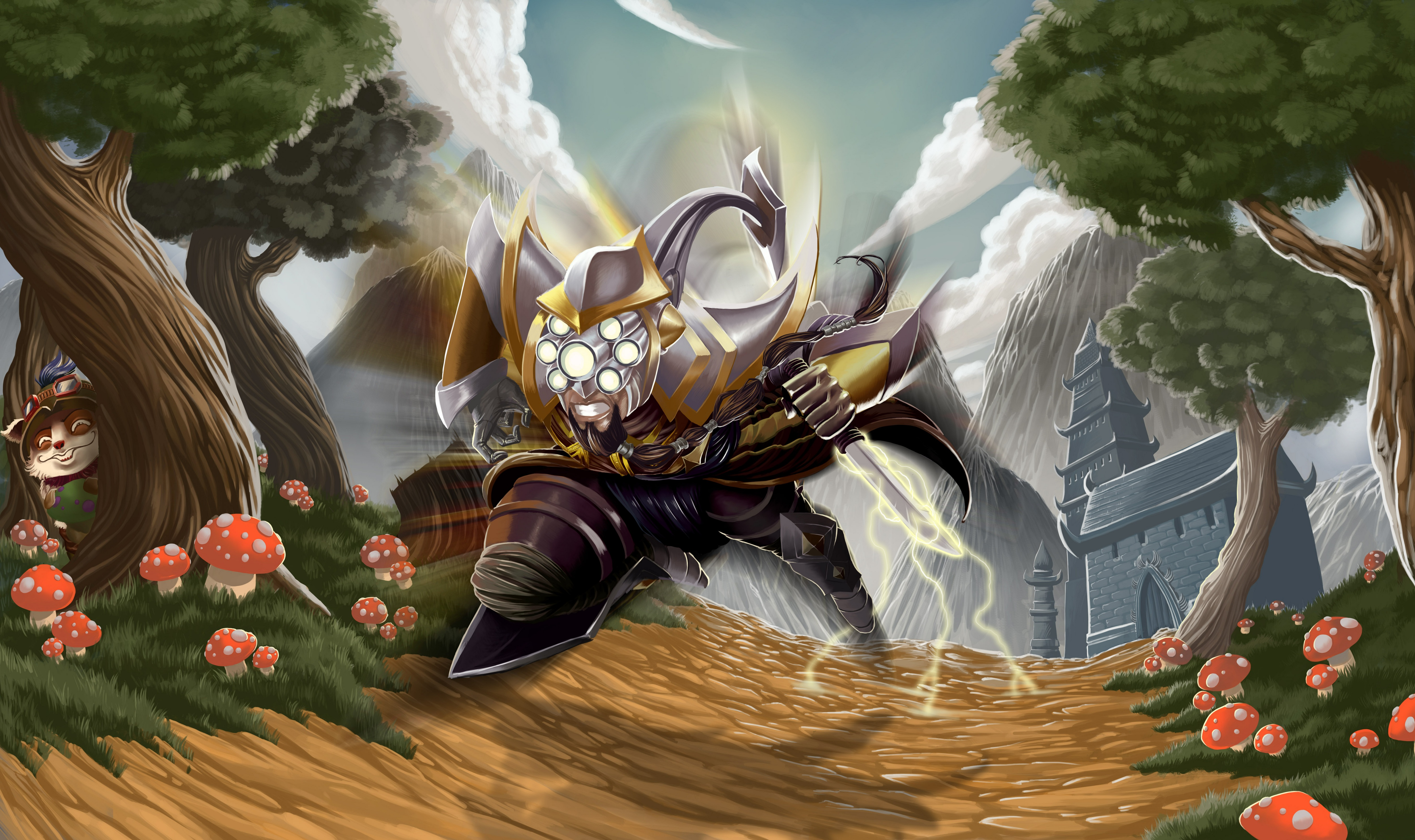 39 Master Yi League Of Legends Hd Wallpapers Background Images