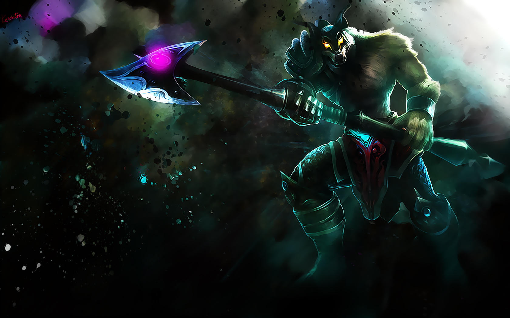 Nasus wallpaper and background image 1680x1050 id - League desktop backgrounds ...