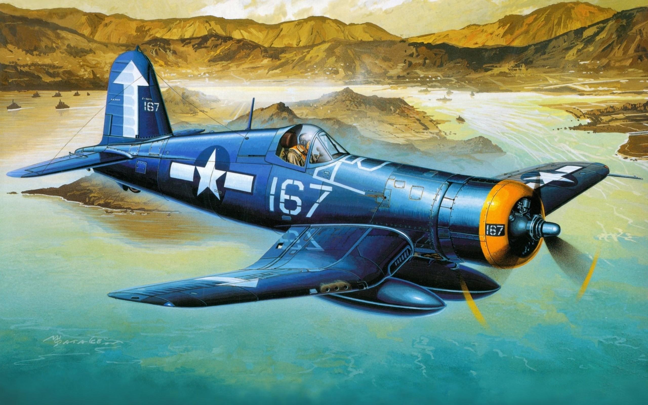 Chance Vought F4U Corsair  № 2361737 бесплатно