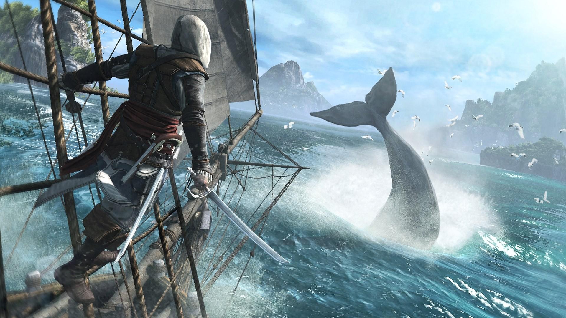 Videogioco assassin 39 s creed iv black flag sfondo for Assassin s creed sfondi