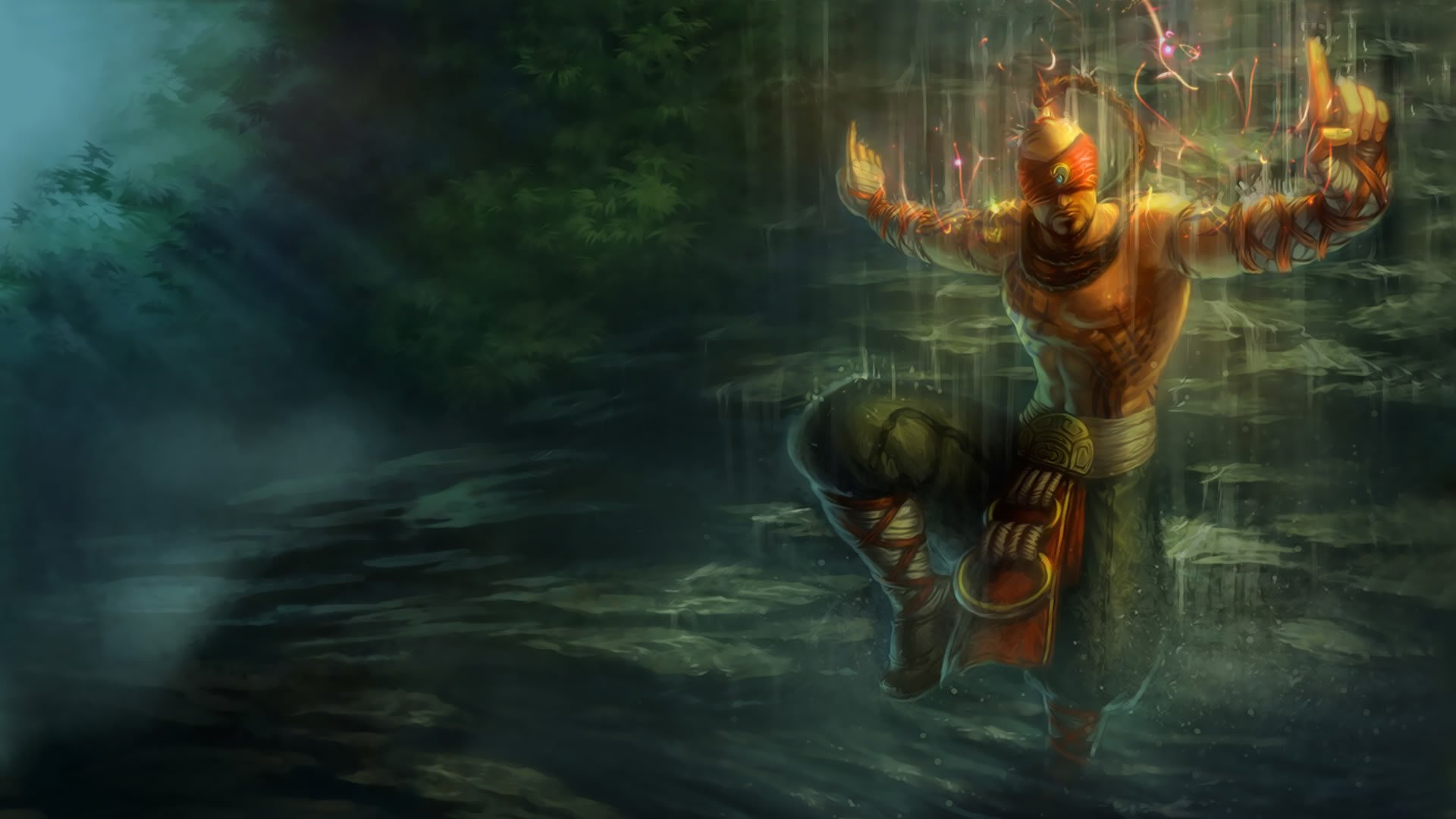 lee sin full hd wallpaper and background image 1920x1080