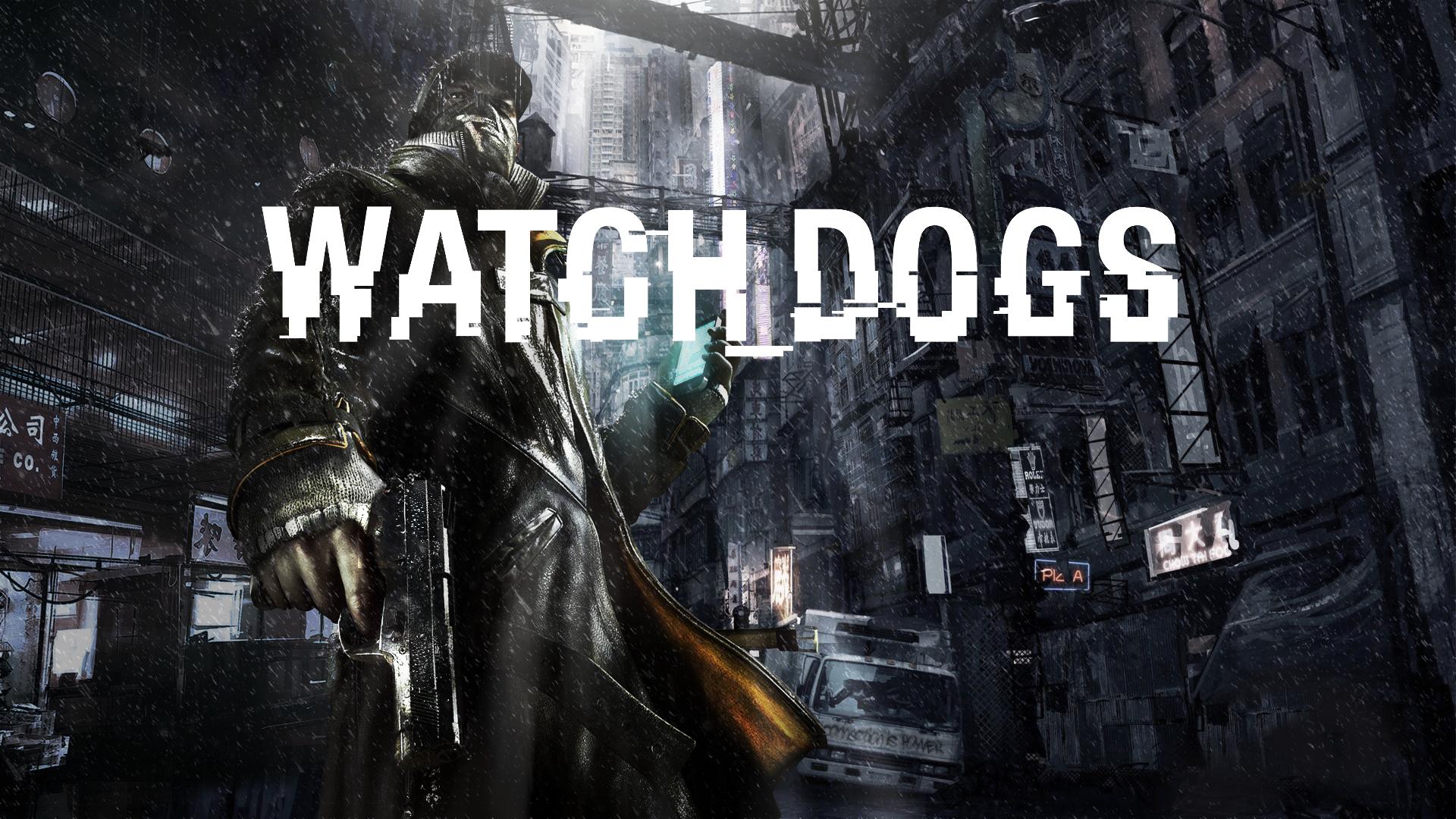 Vídeo Game Watch Dogs Papel De Parede