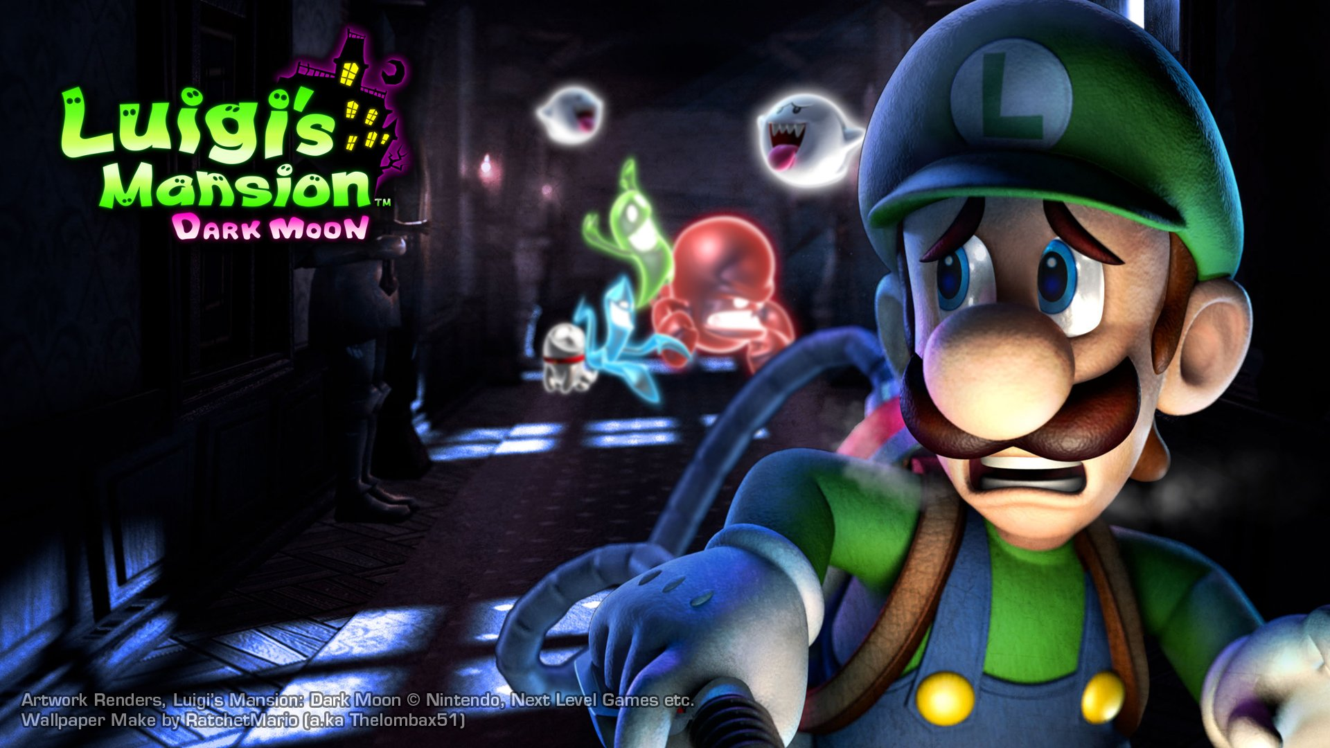13 Luigis Mansion HD Wallpapers