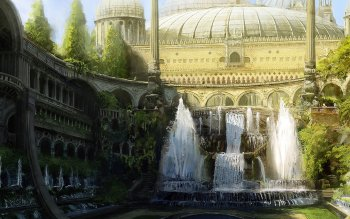 Fantasy - City Wallpapers and Backgrounds ID : 386889