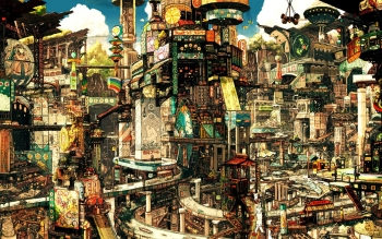 Fantasy - City Wallpapers and Backgrounds ID : 386891