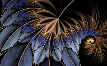 Abstracto - Fractal Wallpapers and Backgrounds ID : 388007