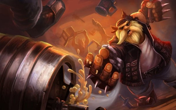 Video Game League Of Legends Gragas HD Wallpaper | Background Image