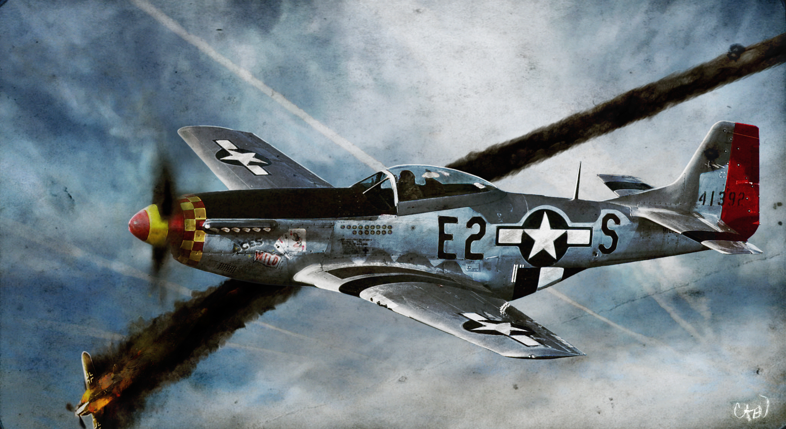 P 51 Mustang Wallpaper North American P-51 Mu...