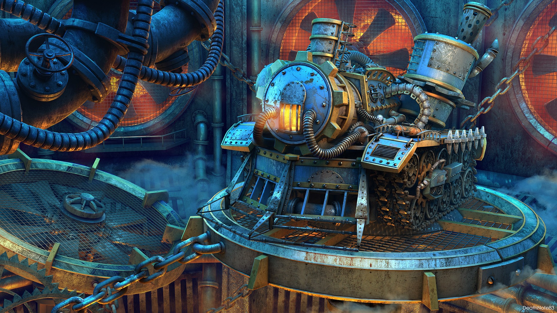 Steampunk Hd Wallpaper Background Image 1920x1080 Id