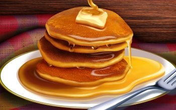 Food - Pancake Wallpapers and Backgrounds ID : 389345