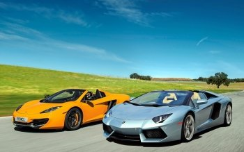 Voertuigen - Lamborghini Wallpapers and Backgrounds ID : 389359
