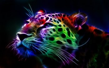 Artistic - Fractal Leopard Wallpapers and Backgrounds ID : 390162