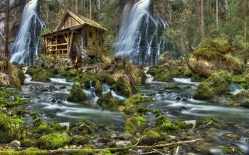 Man Made - Grist Mill Wallpapers and Backgrounds ID : 390813