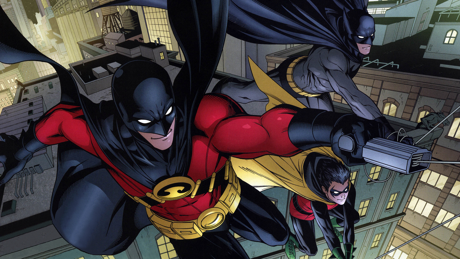 Image result for the robins dc wallpaper