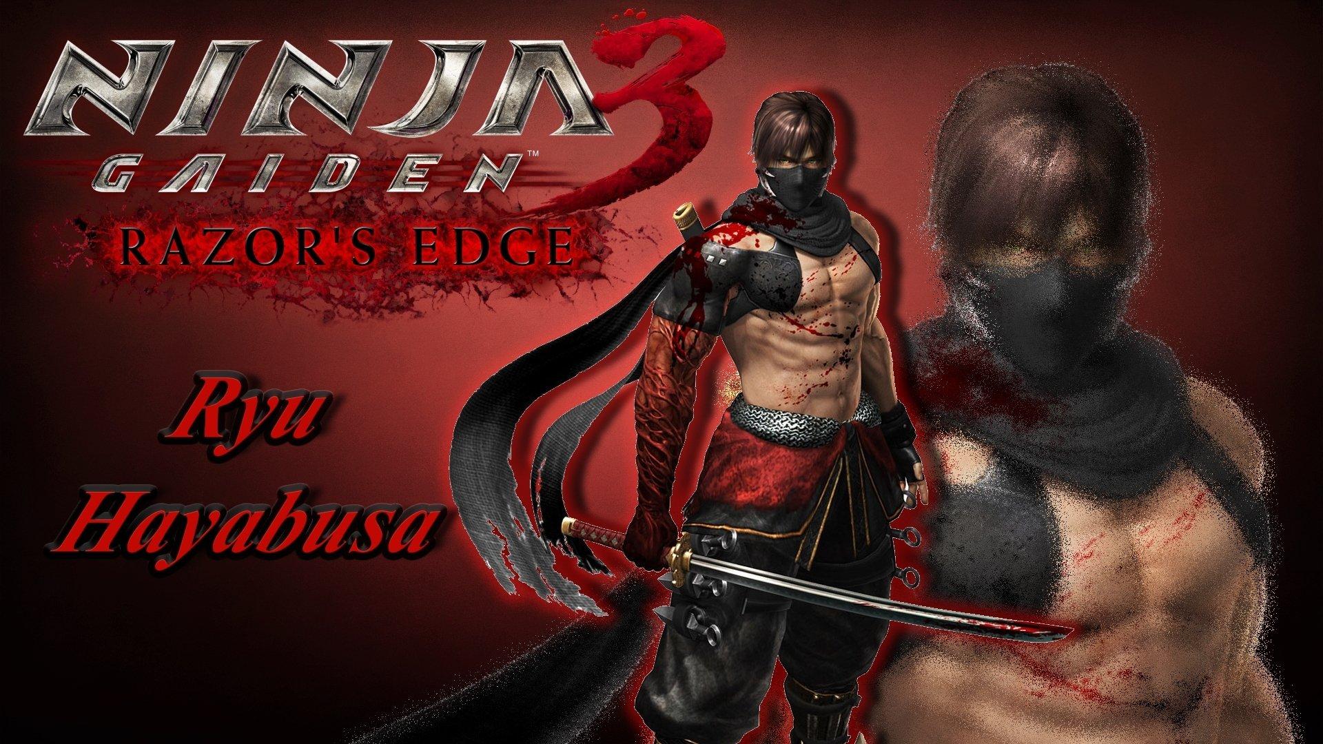 Game Ninja Gaiden Wallpaper: Warrior Ryu Hayabusa HD Wallpaper