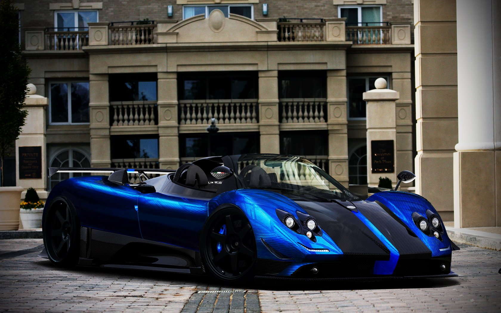 Pagani Zonda Cinque Wallpaper And Background Image