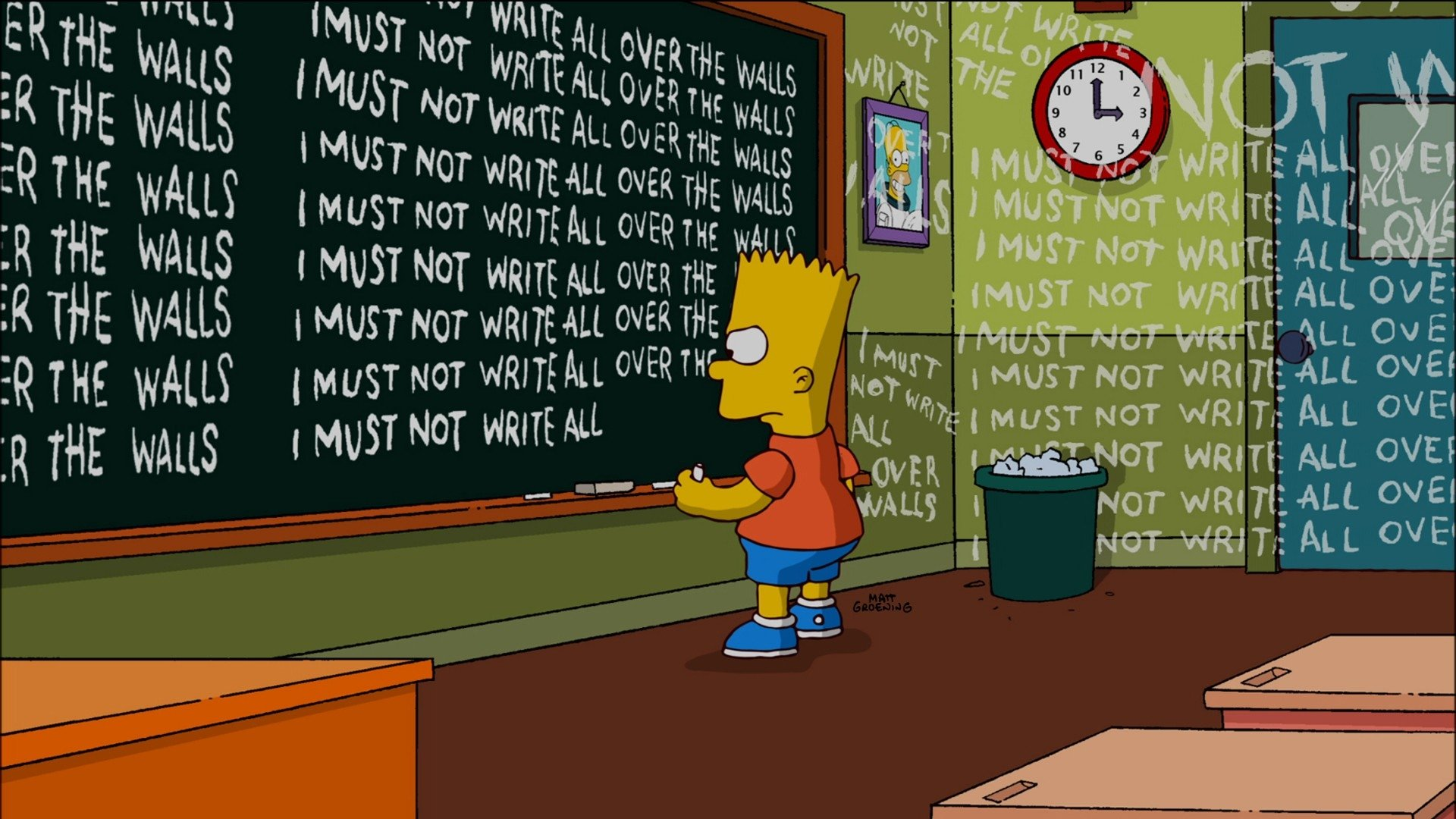 134 Bart Simpson Hd Wallpapers Background Images Wallpaper Abyss