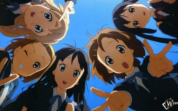 Anime K-ON! Azusa Nakano Yui Hirasawa Tsumugi Kotobuki Mio Akiyama Ritsu Tainaka Fondo de pantalla HD | Fondo de Escritorio