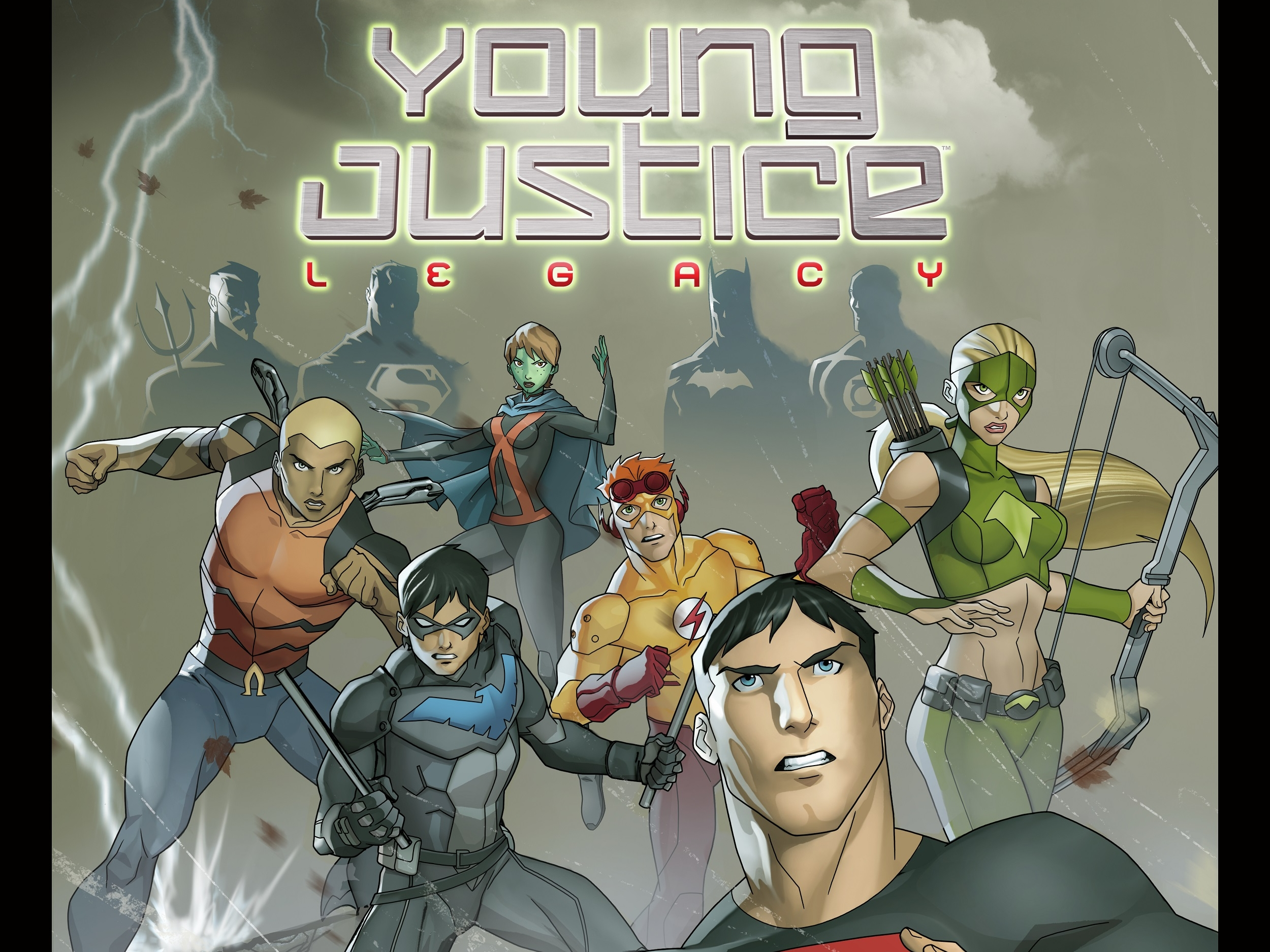 Young Justice Legacy HD Wallpaper