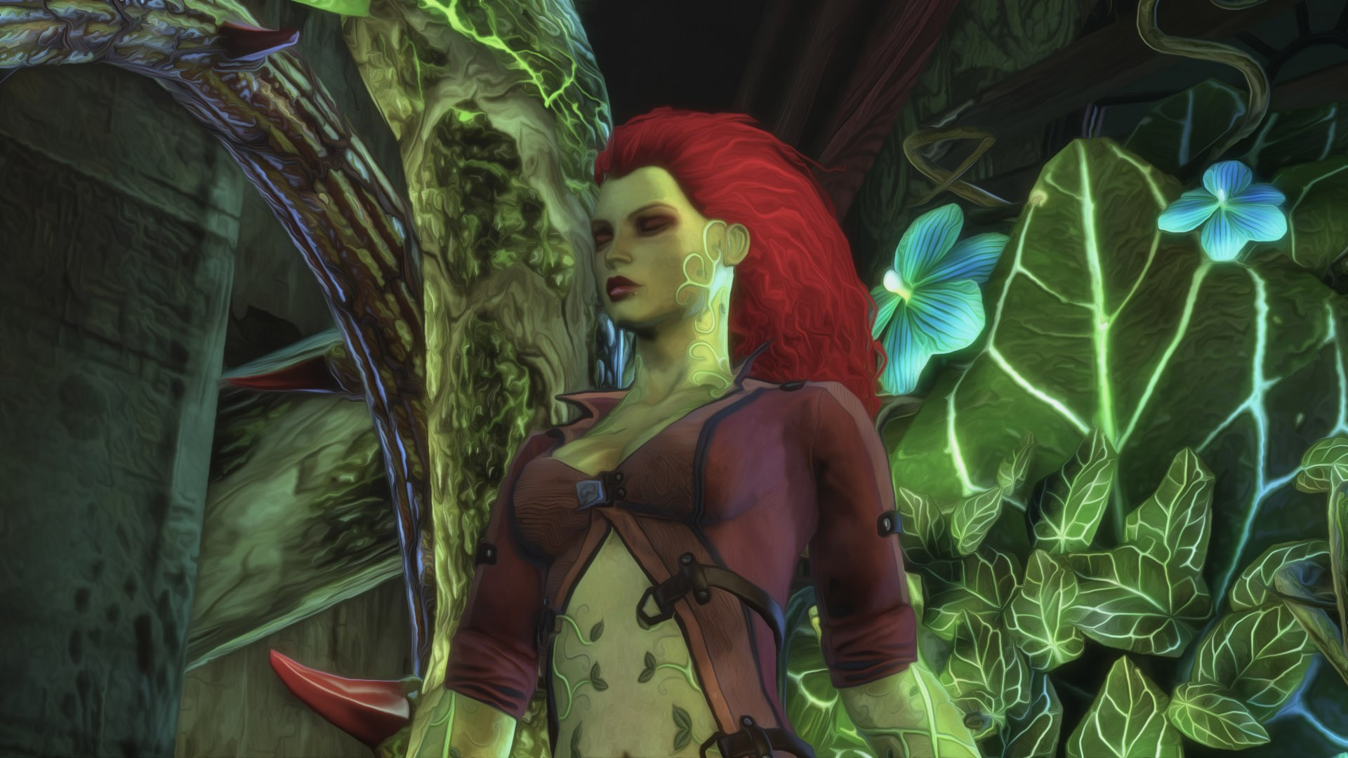 Poison Ivy Hd Wallpaper Background Image 1920x1080 Id 393265