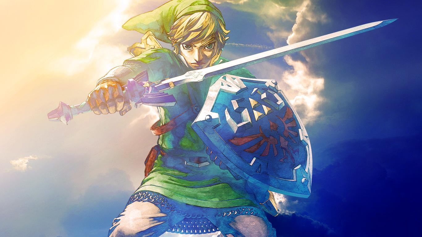 The Legend Of Zelda: S... Zelda Skyward Sword Wallpaper