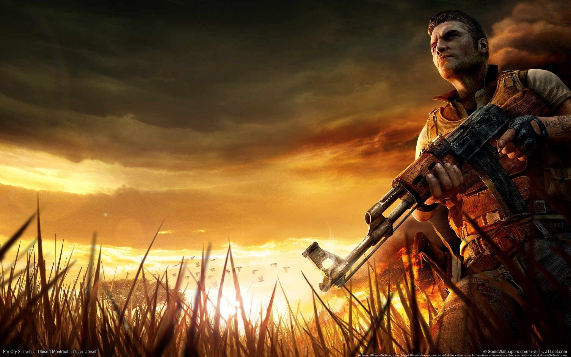 Far Cry 2 HD Wallpaper