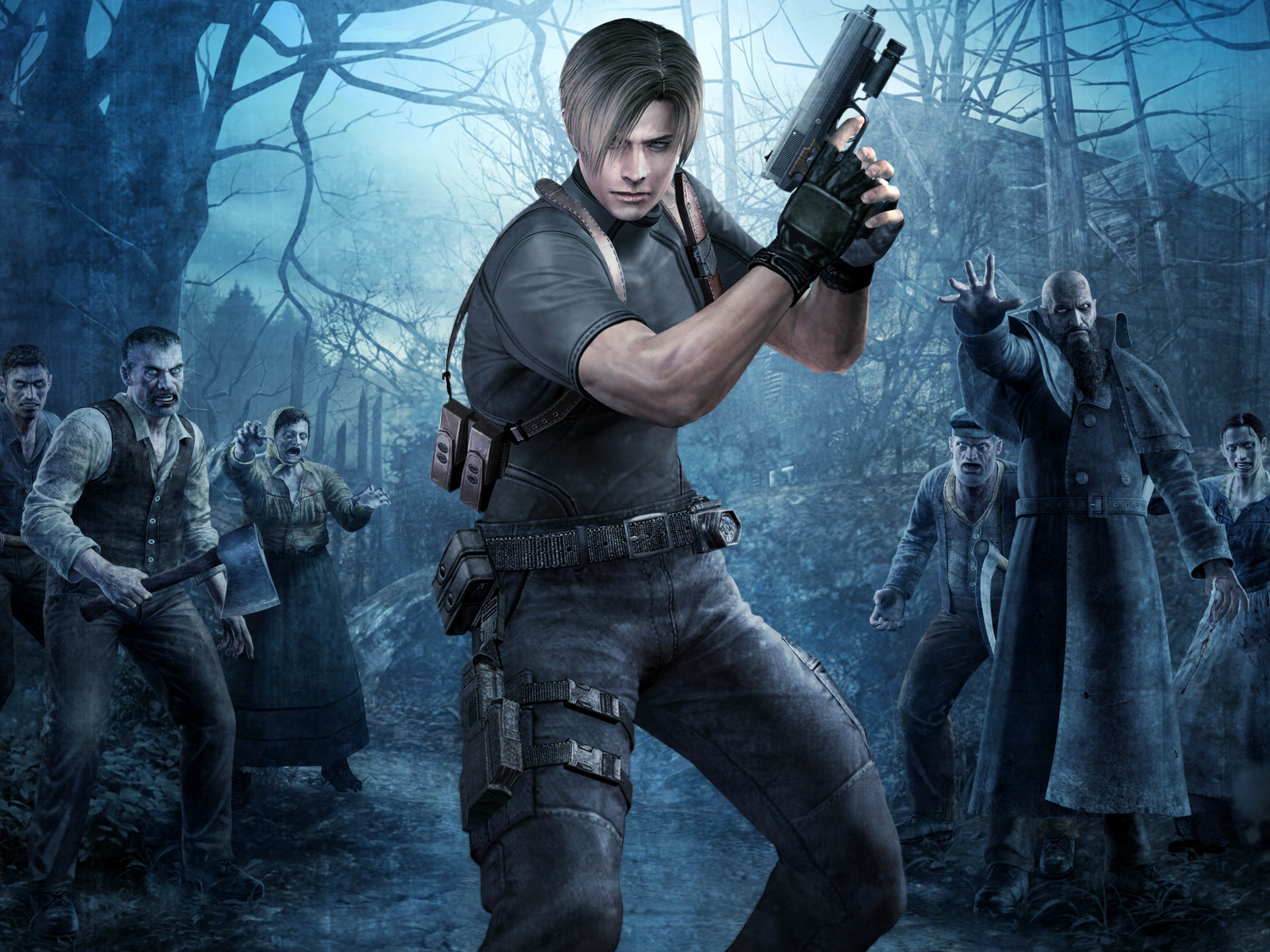 63 Leon S Kennedy Hd Wallpapers Background Images Wallpaper Abyss
