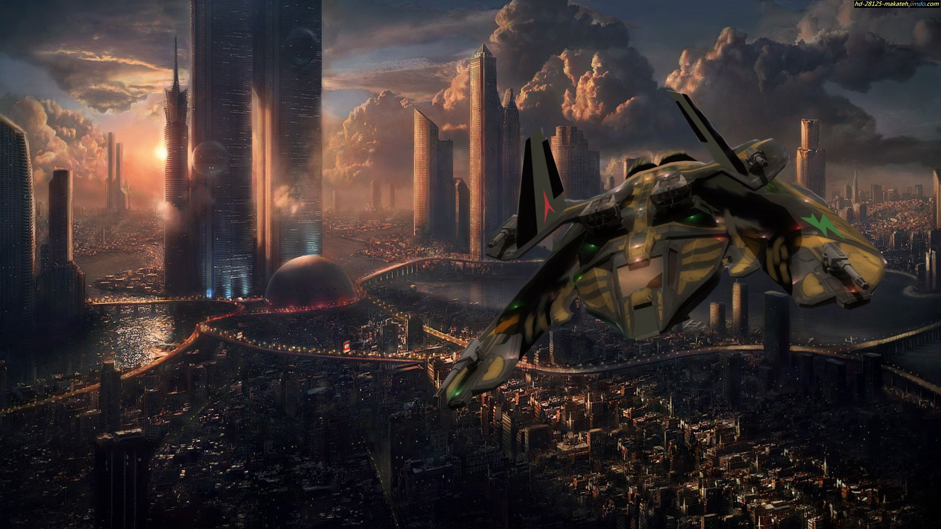 sci fi cities on other planets - photo #21