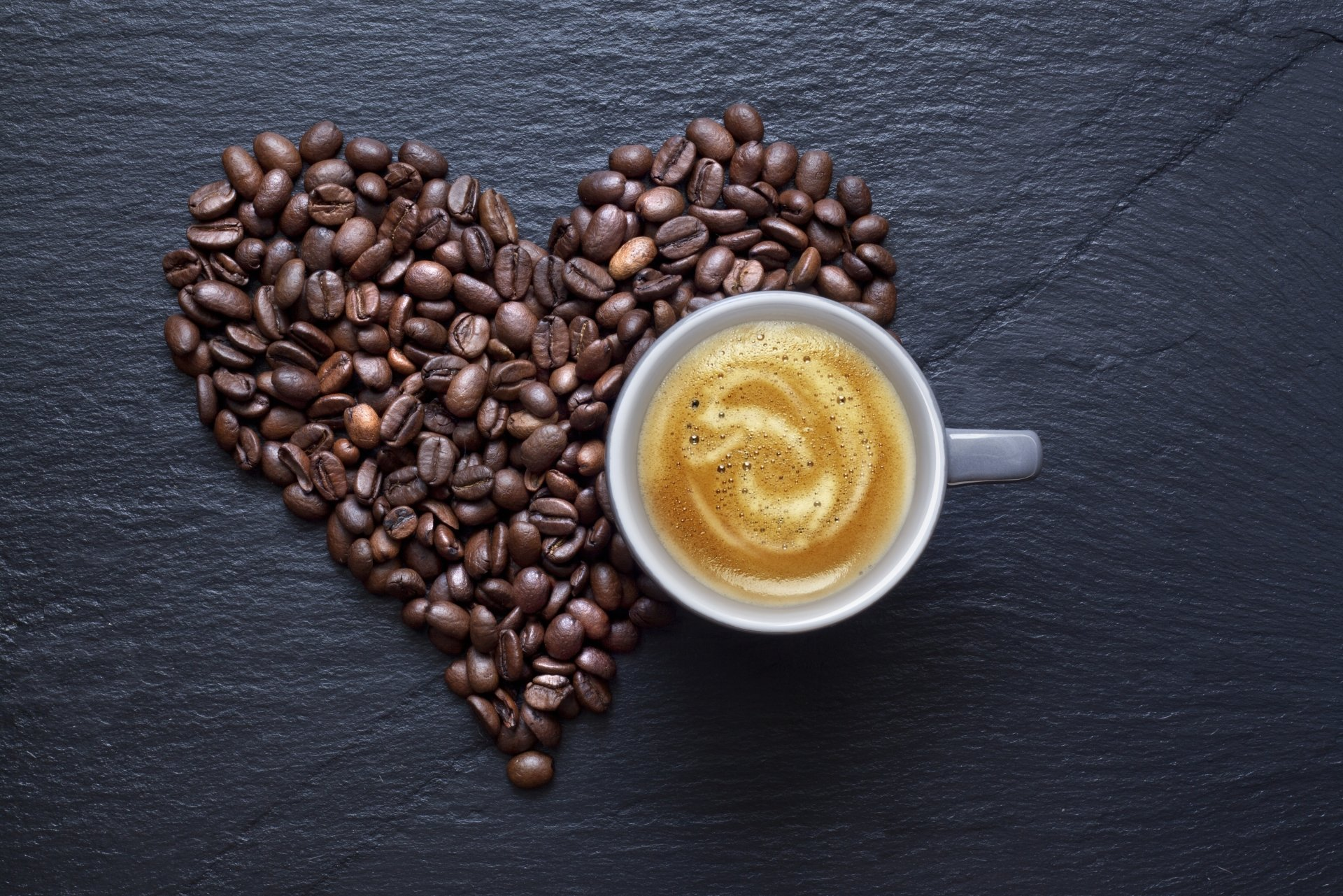 Food - Coffee  Heart Love Wallpaper