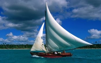 Vehicles - Sailing Boat Wallpapers and Backgrounds ID : 394430