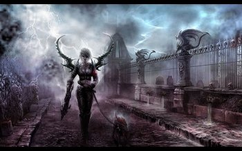 Dark - Women Wallpapers and Backgrounds ID : 394458