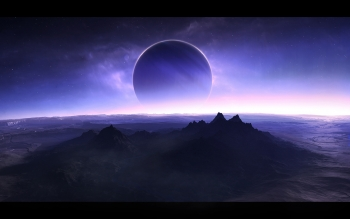 Sci Fi - Planet Rise Wallpapers and Backgrounds ID : 395695