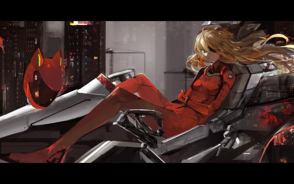 Anime Evangelion: 3.0 You Can (Not) Redo Evangelion Asuka Langley Sohryu Fondo de pantalla HD | Fondo de Escritorio