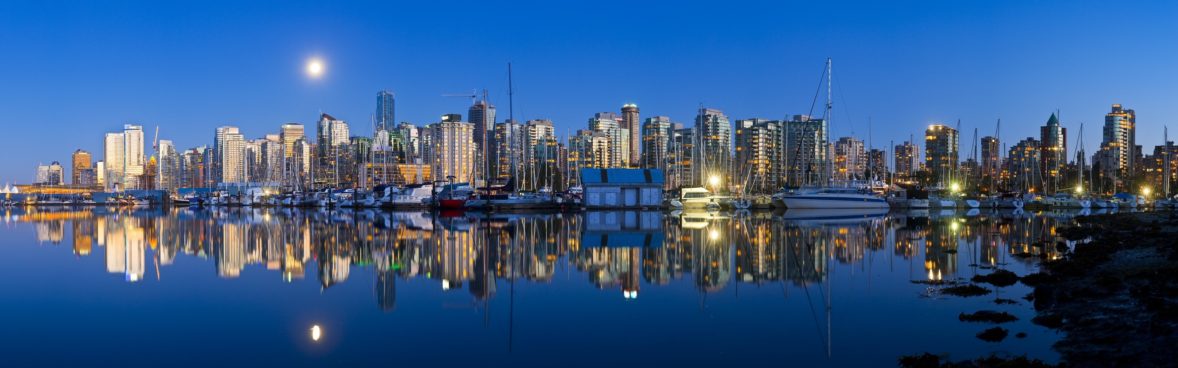 vancouver skyline wallpapers widescreen - photo #13