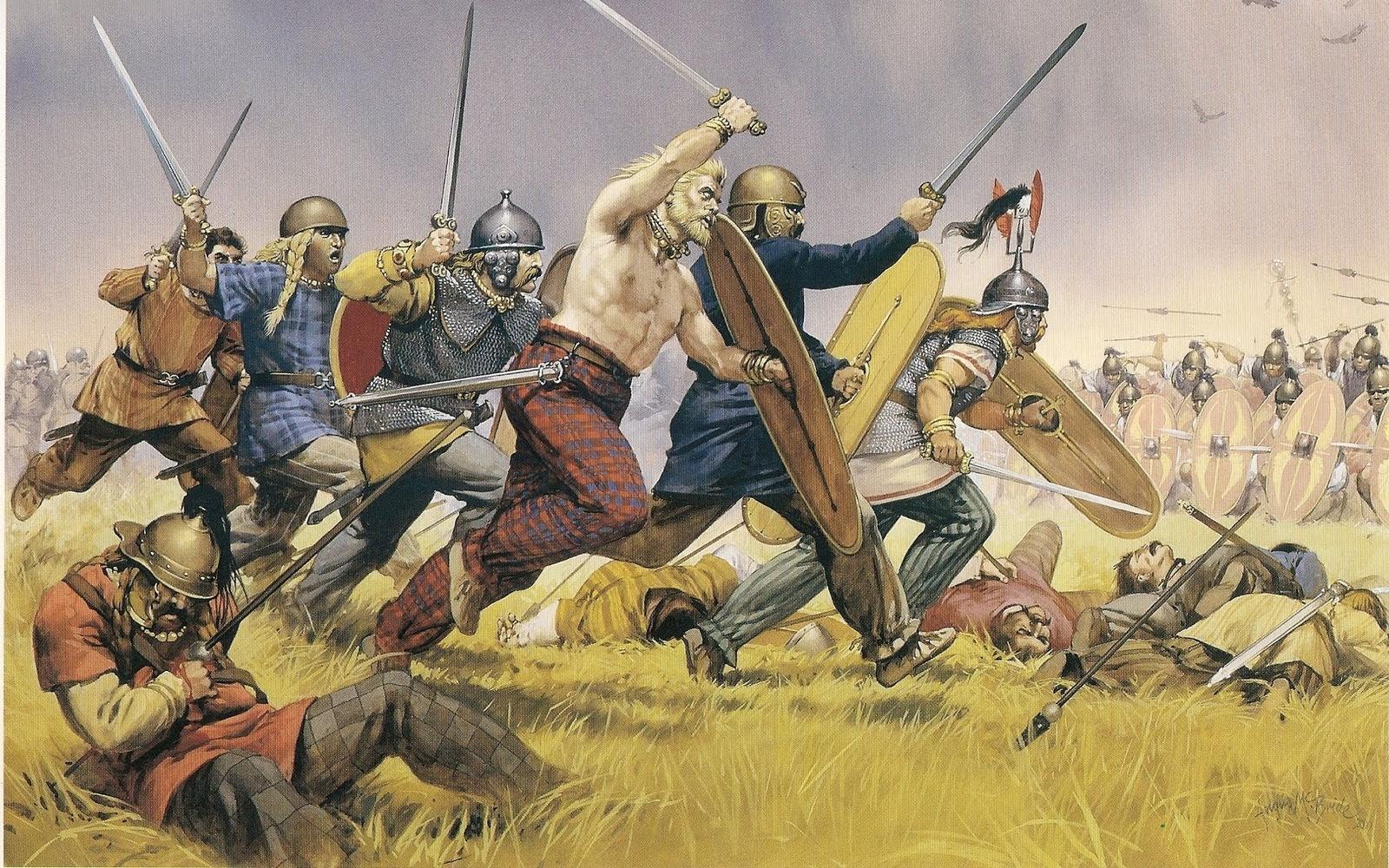 Celtic Warrior Background Artistic - celtic warriors