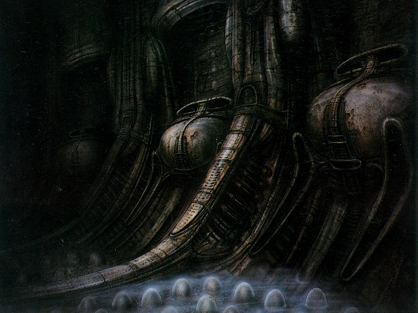 Alien Concept Art Computer Wallpapers, Desktop Backgrounds | 1600x1200 ... H.r. Giger Wallpaper