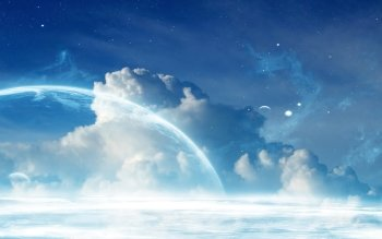 Science Fiction - Planet Rise Wallpapers and Backgrounds ID : 397568